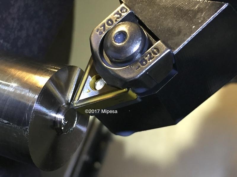 Mecanizado de titanio en torno