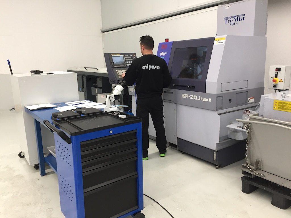 Optimización de los procesos de mecanizado por personal cualificado