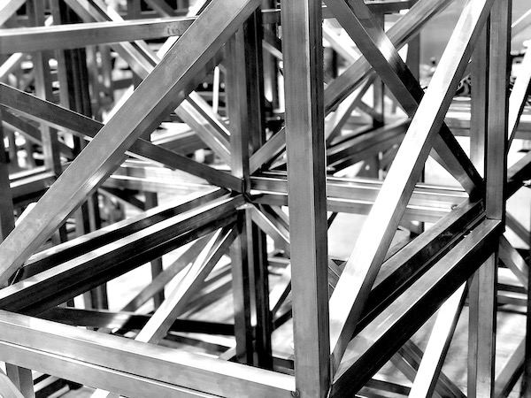 Soldadura de piezas metálicas