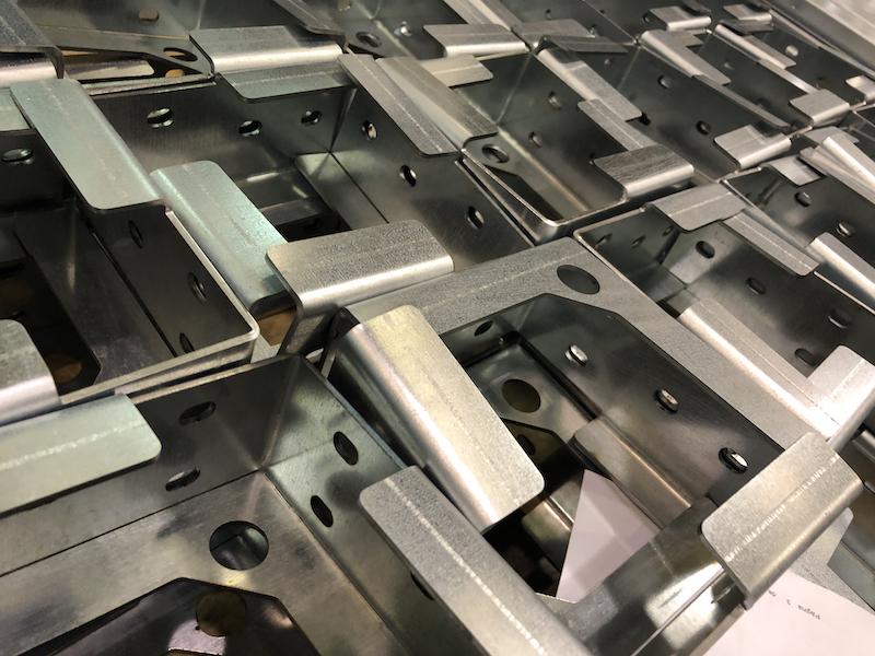 Talleres de mecanizado: piezas plegadas y cortadas por láser