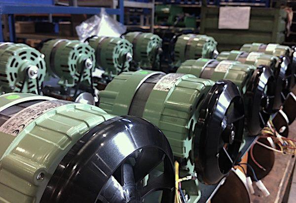 montaje de maquinaria industrial