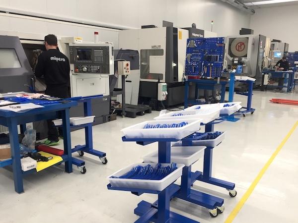 Maquinaria para optimizar los procesos de mecanizado
