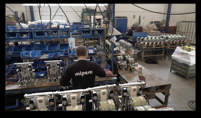 Montaje de piezas mecanizadas