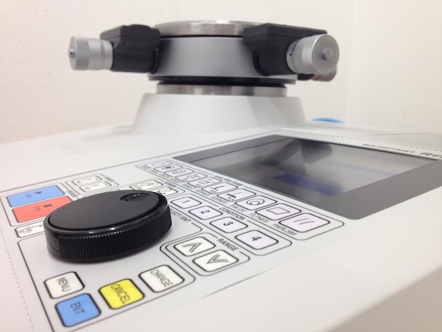 Equipo de medición del defecto de forma en mecanizado a tener en cuenta durante la presupuestación.