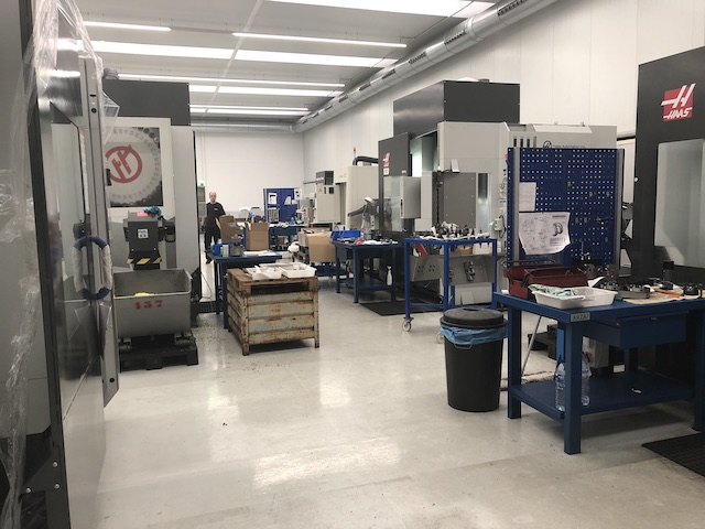 precision en mecanizado, las instalaciones