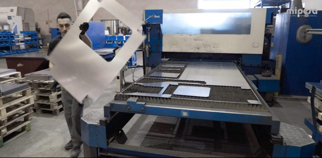 corte laser aluminio