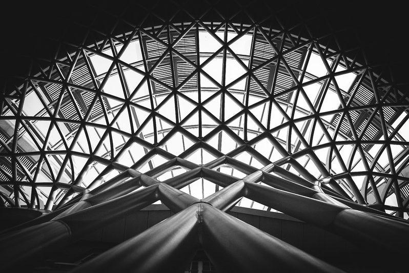 corte láser tubo en estructuras