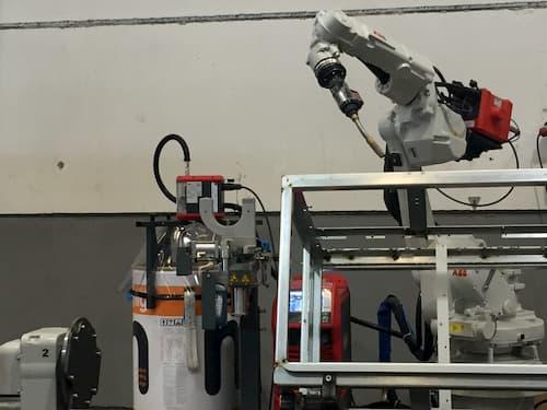 soldadura robotizada