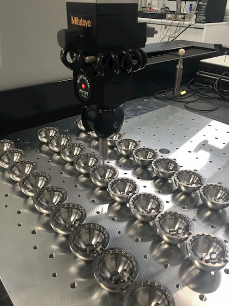 calidad en el mecanizado